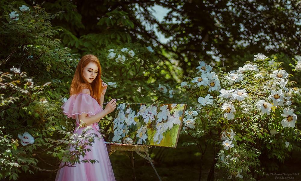 俄罗斯摄影师Galiya Zhelnova镜头下的少女