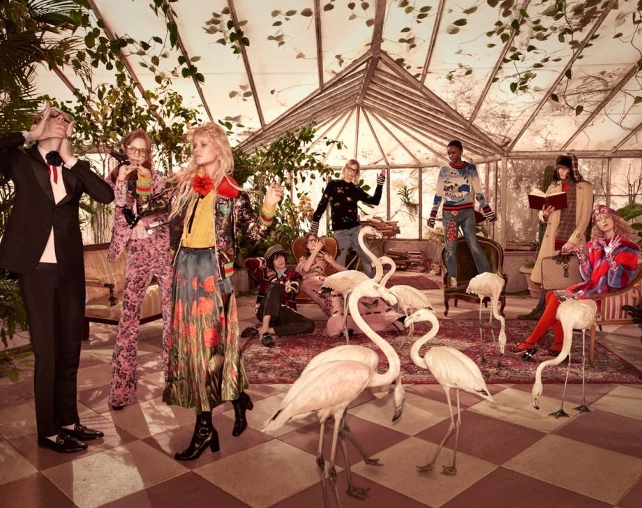 Gucci 2016 Pre-Fal 广告时尚大片,由时尚摄影师Glen Luchford操刀拍摄。...