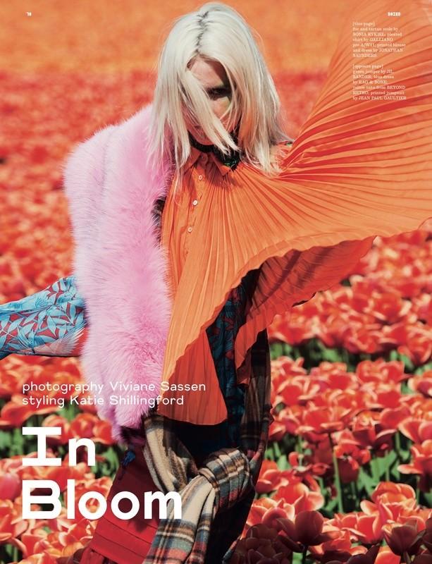 时尚摄影师Viviane Sassen是一位特立独行的艺术家。Viviane给诸多时装品牌拍摄宣传照,Diesel、So、Miu Miu都是她的主顾。她也给不下三十本杂志拍摄图片......