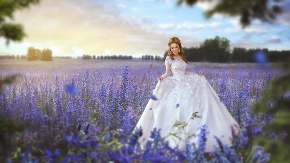 俄羅斯女攝影師的夢境花嫁婚紗攝影寫真