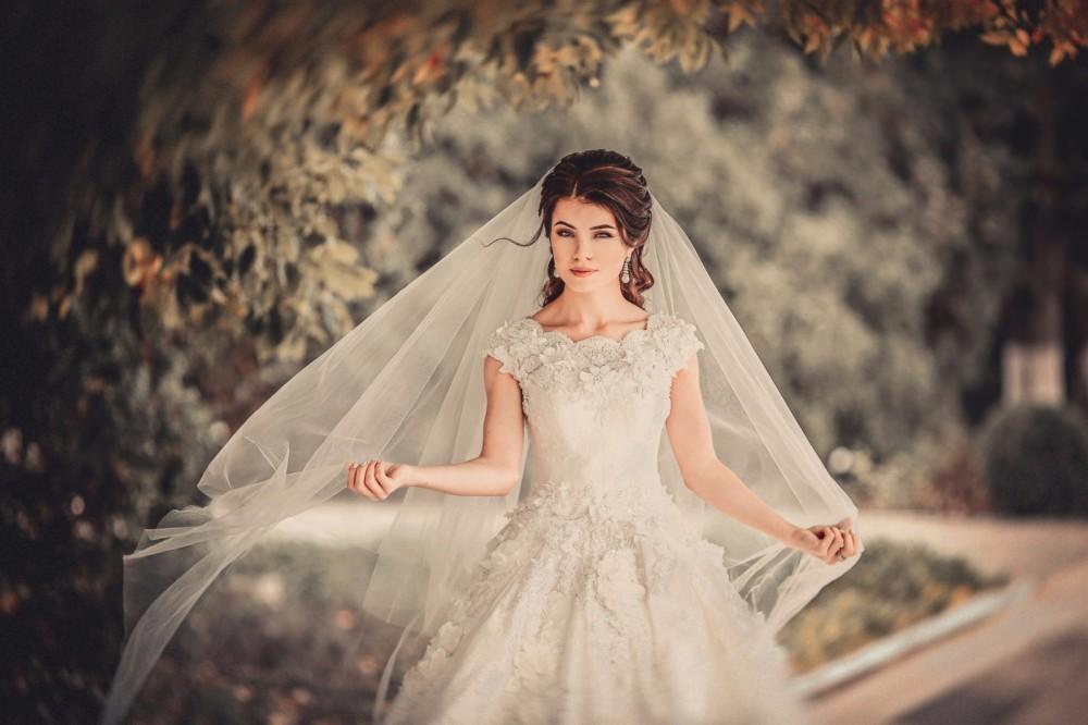 俄罗斯女摄影师的梦境花嫁婚纱摄影写真